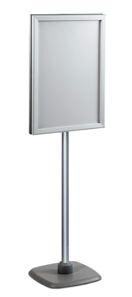 Mk1 Display Solutions Double-sided Poster frame on adjustable stand
